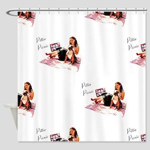 Pittie Picnic 2011 Shower Curtain