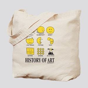 History of Art Smileys Tote Bag