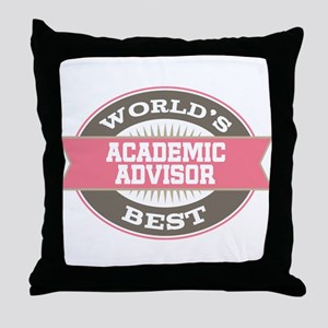 Academic Advisor Gift Throw Pillow
