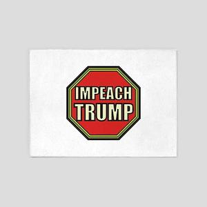 Impeach Trump 5'x7'Area Rug