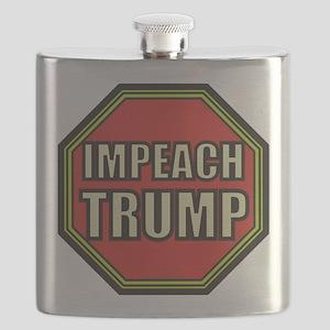 Impeach Trump Flask
