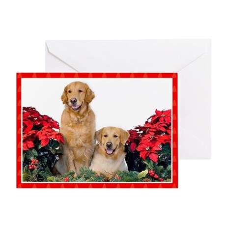 Goldens 269 Greeting Card