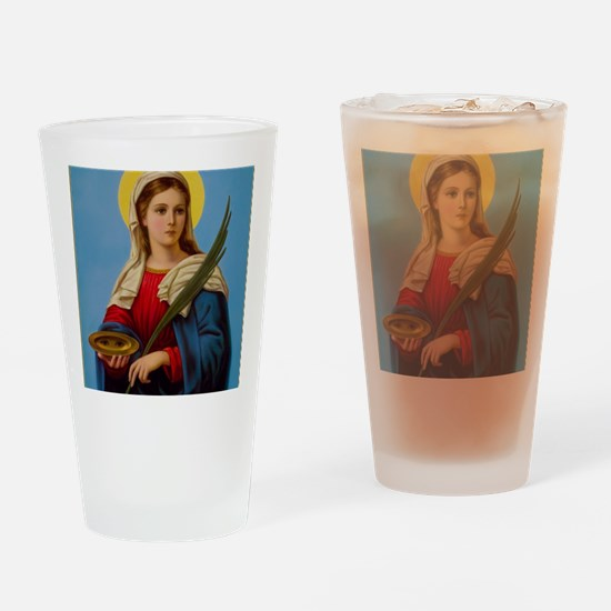 Cute Martyrs Drinking Glass