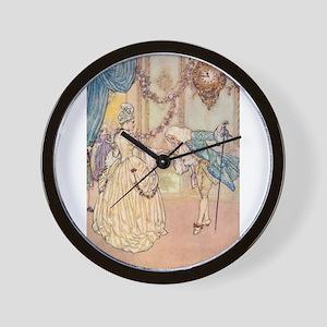 Cinderella Meets the Prince Wall Clock