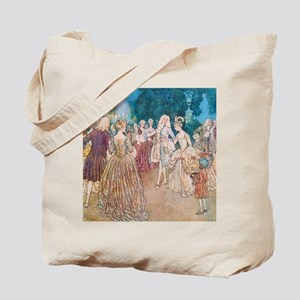 Cinderella and the Prince at the Ball Tote Bag
