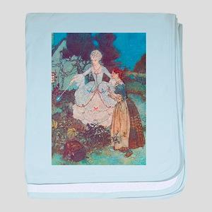 CInderella and Her Fairy Godmother baby blanket