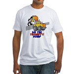 Trumpty Dump Fitted T-Shirt