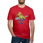 Trumpty Dump Men's Fitted T-Shirt (dark)