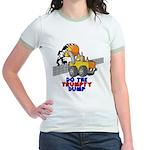 Trumpty Dump Jr. Ringer T-Shirt