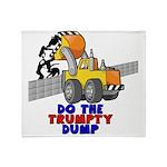 Trumpty Dump Throw Blanket