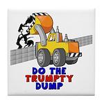 Trumpty Dump Tile Coaster
