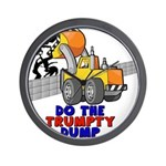 Trumpty Dump Wall Clock