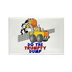 Trumpty Dump Rectangle Magnet (100 pack)