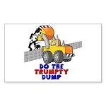 Trumpty Dump Sticker (Rectangle)