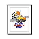 Trumpty Dump Framed Panel Print