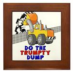 Trumpty Dump Framed Tile