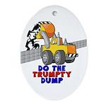 Trumpty Dump Oval Ornament