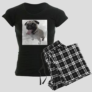 Pug Close Up Photo Pajamas