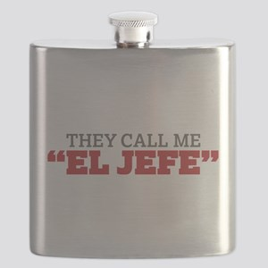 They Call Me El Jefe Flask
