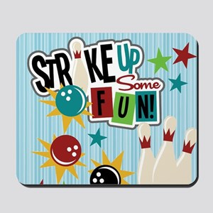 Bowling Sports Fun Mousepad
