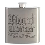 Hard worker : Gets the job done Flask