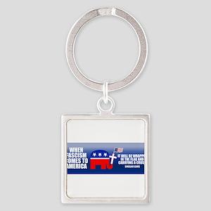 StickerBumper_fascism Keychains