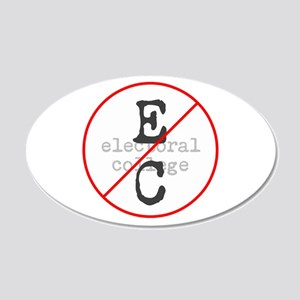 No Electoral College Wall Decal