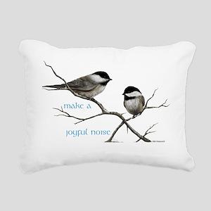 Make a joyful noise Rectangular Canvas Pillow