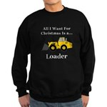 Christmas Loader Sweatshirt (dark)