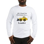 Christmas Loader Long Sleeve T-Shirt