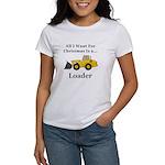 Christmas Loader Women's T-Shirt