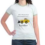 Christmas Loader Jr. Ringer T-Shirt