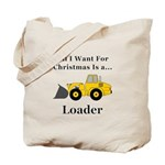Christmas Loader Tote Bag