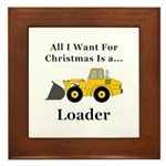 Christmas Loader Framed Tile