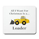 Christmas Loader Mousepad