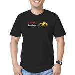 I Love Loaders Men's Fitted T-Shirt (dark)