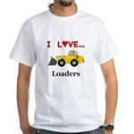 I Love Loaders White T-Shirt