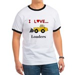 I Love Loaders Ringer T