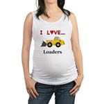 I Love Loaders Maternity Tank Top