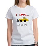 I Love Loaders Women's T-Shirt