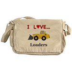 I Love Loaders Messenger Bag