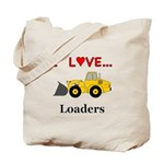 I Love Loaders Tote Bag