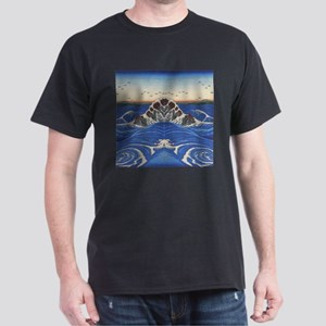 Angry Sea from Hokusai T-Shirt