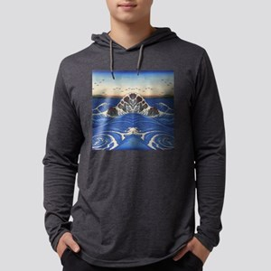 Angry Sea from Hokusai Long Sleeve T-Shirt
