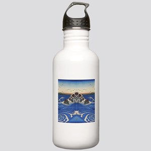 Angry Sea from Hokusai Stainless Water Bottle 1.0L
