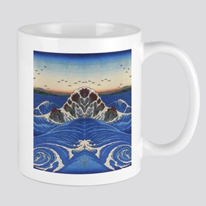 Angry Sea from Hokusai Mugs