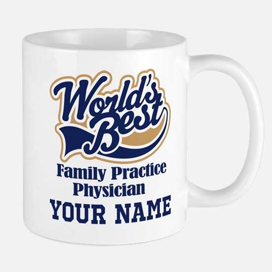 Family Practice Physician Personalized Gift Mugs