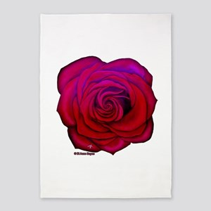Wild Rose 5'x7'Area Rug