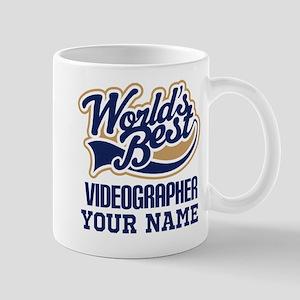 Videographer Personalized Gift Mugs