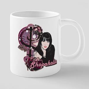 90210 Shopaholic 20 oz Ceramic Mega Mug